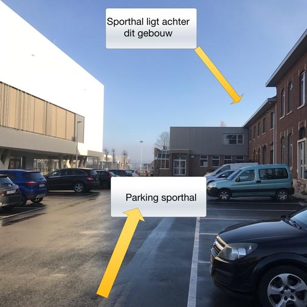 Parking Sporthal